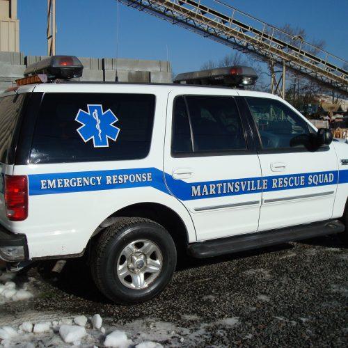 rescue squad livery
