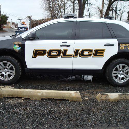 police suv livery