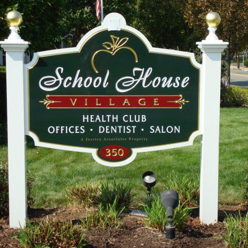 health club signage