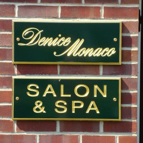 salon and spa signage