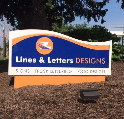 graphic design signs