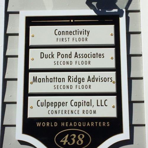 business building signage