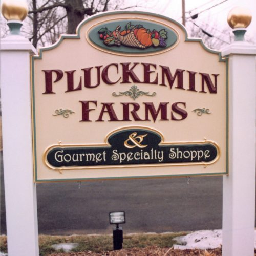 farm and shop signage