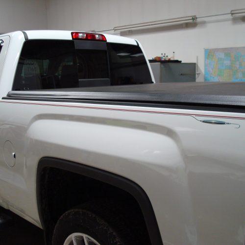 custom truck pinstripe
