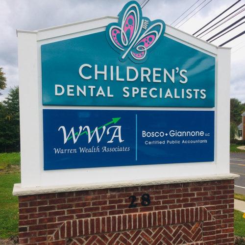 dental practice signage