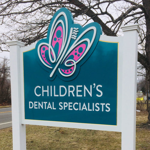 pediatric dentist sign