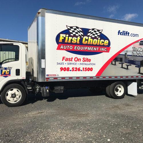 auto equipment truck