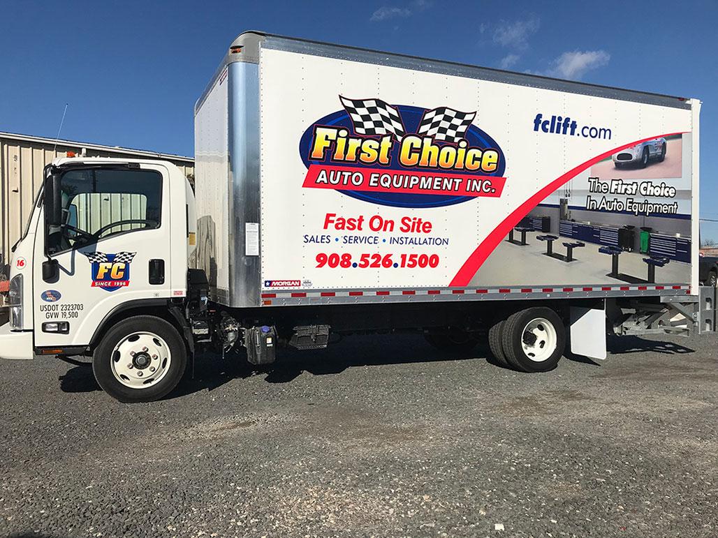 truck lettering portfolio