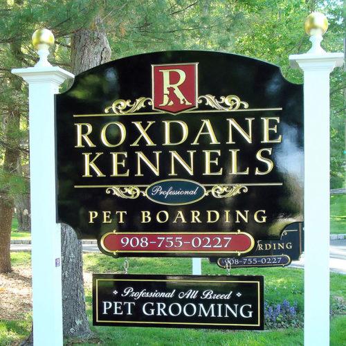 kennel signage